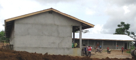 St. Joseph Liberia with new roof